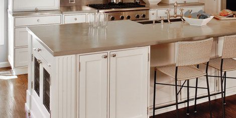 kitchen center island with granite top 6 best countertop materials to use for your kitchen counters 9188