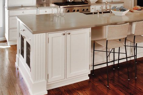 Exceptional Concrete Kitchen Counter