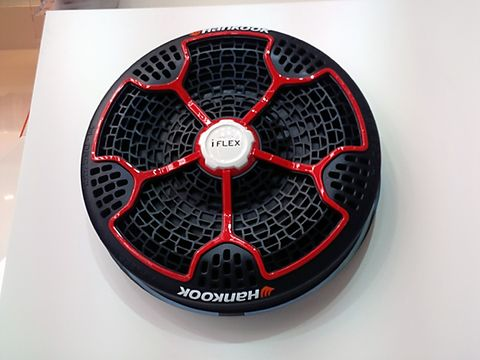 Behold The Hankook Iflex Auto Industry S Latest Attempt At An Airless Tire