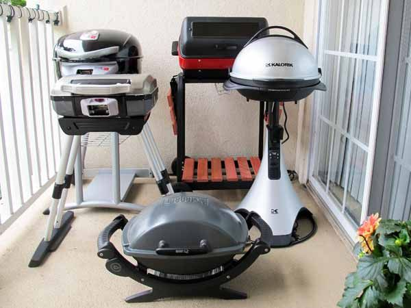 We Test 5 Hot Outdoor Electric Grills - Balcony Barbecue