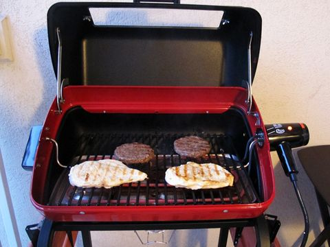 Aussie 9329w Deluxe Electric Cart Grill