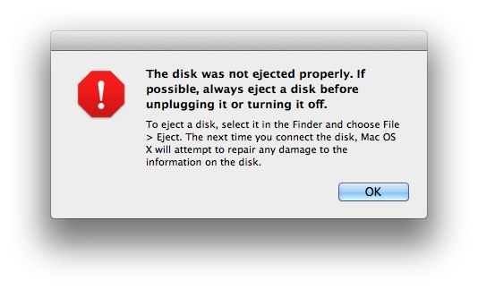 Does It Really Matter if You Eject Disks Properly?