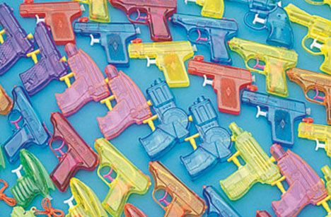 traditional squirt guns