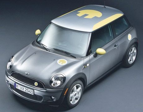 mini e electric mini cooper