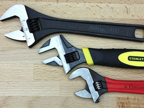Adjustable wrenches are not exactly the strongest or most precise tools for tightening and loosening fasteners