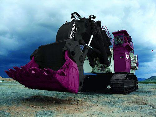 Bucyrus RH400 Hydraulic Shovel