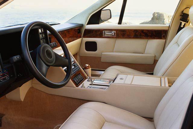 Auto Questions Will Be Answered 1988 Aston Martin Lagonda Interior