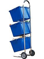 If Your Garage Doubles As A Home For Recyclables Cart Such This Gaiam Model Can Help And Move Them 120 Includes Three Bins