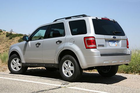 ford escape hybrid 2009 fuel economy