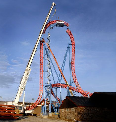 Building America S Most Extreme New Roller Coaster