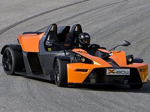 2008 KTM X-Bow Test Drive