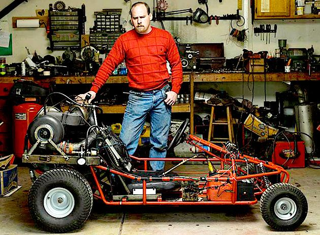 Top 10 Coolest Backyard Inventions of 2008: DIY Rally