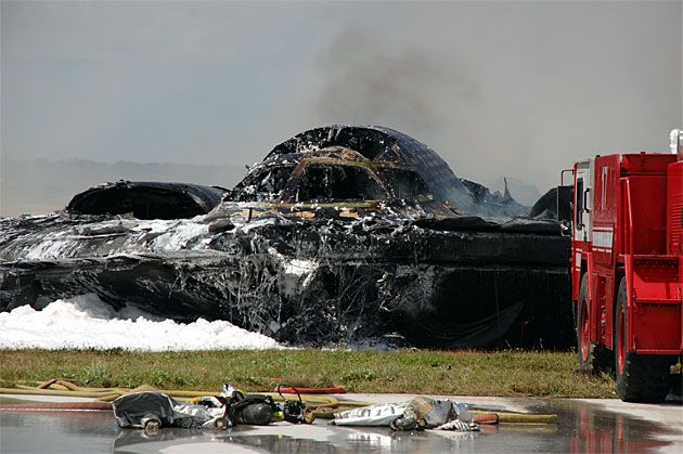 B-2 Stealth Bomber Crash Scene Photos: Exclusive First Look