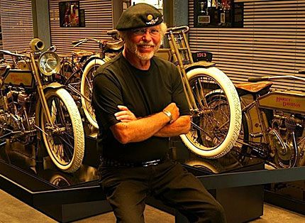 17 classic motorcycles from the harley davidson museum for Motor harley davidson museum