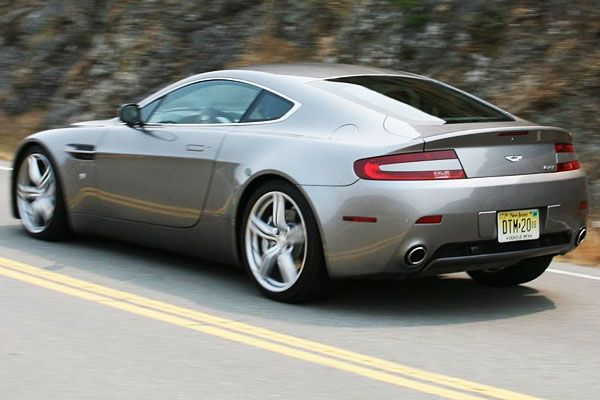 2009 Aston Martin V8 Vantage Test Drive 420 Hp Super Coupe Delivers