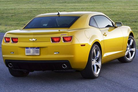 2010 Chevrolet Camaro First Look: Retro Hotness Looks Even Better ...