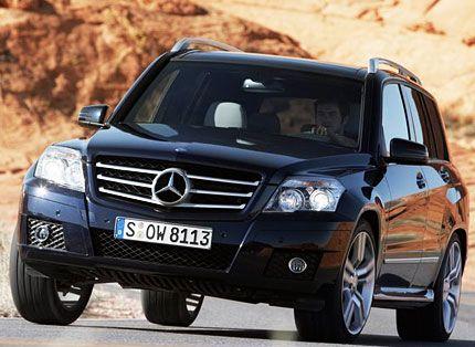 2010 Mercedes-Benz GLK350 Test Drive: Competent Lux
