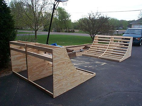 Backyard Bmx Jumps how to build a backyard climbing wall, skate ramp & bmx jump