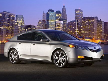 2009 acura tl test drive refined sport sedan is most powerful acura ever. Black Bedroom Furniture Sets. Home Design Ideas