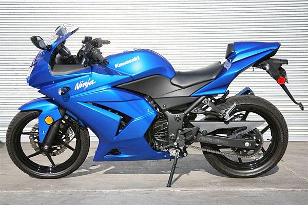 2008 Kawasaki Ninja 250R Test Drive: 61-MPG Commuter Motorcyle—Under