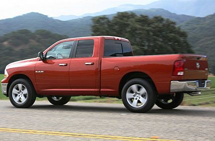 The 94 Model Polarized Everyone With Its Brazen Rig Styling For 2009 Dodge Ram Gets Perhaps Most Significant Breakthrough Yet