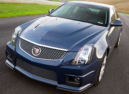 2009 Cadillac Cts V Test Drive Hiding Weight With 556 Horses Is
