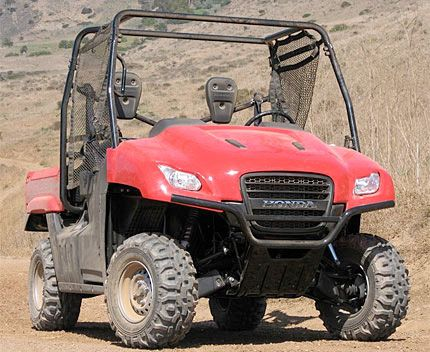 2009 Honda Big Red Test Drive: Tough New Side-by-Side ATV