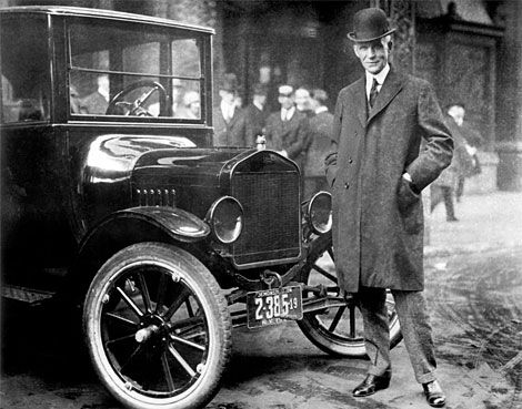 Henry Ford And The Model T Advertisement