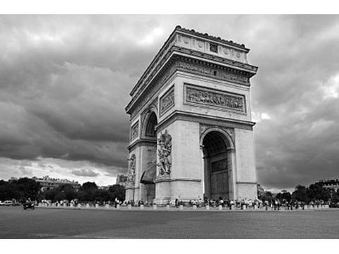 Architecture, Photograph, Monochrome photography, Monochrome, Tourism, Style, Arch, Black-and-white, Landmark, Triumphal arch,