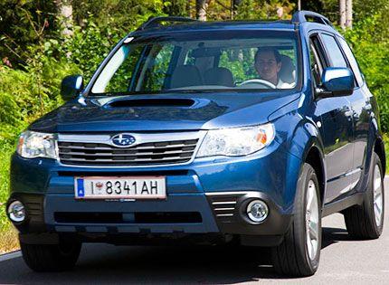 2009 Subaru Forester Diesel Test Drive: 37-MPG Crossover