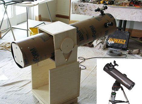 how to build a dobsonian telescope diy astronomy project