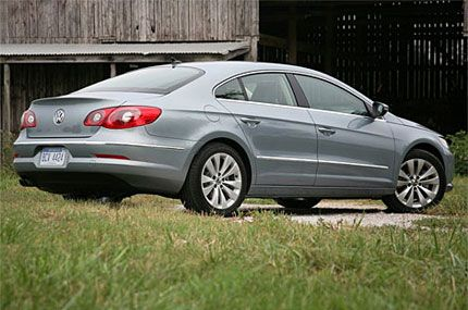 2009 Volkswagen Cc Test Drive New Coupe Delivers Upscale Style And