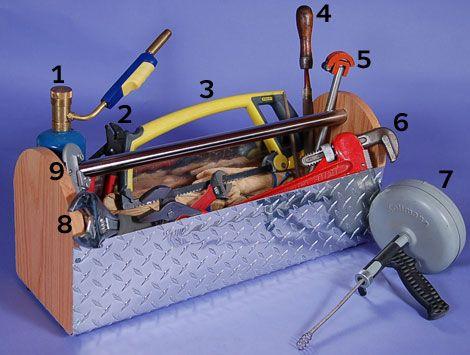 12 Basic Plumbing Supplies For Home Tool Kits Diy Guy