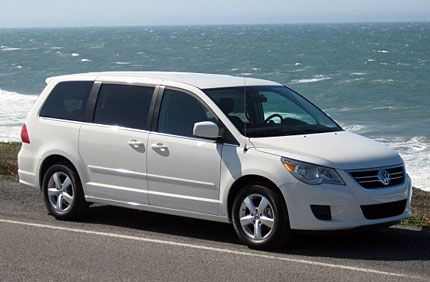 2009 vw routan test drive vws first american style minivan takes a san francisco volkswagen like every carmaker these days is trying to do more with less and still deliver a car at a competitive price tag publicscrutiny Gallery