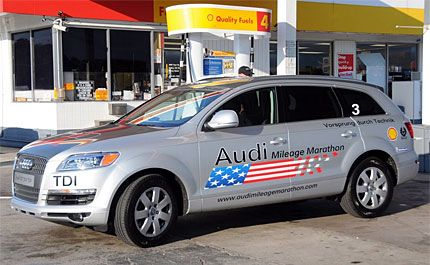 2009 Audi Q7 Tdi Test Drive In Mileage Marathon Sel Hits 30 Mpg
