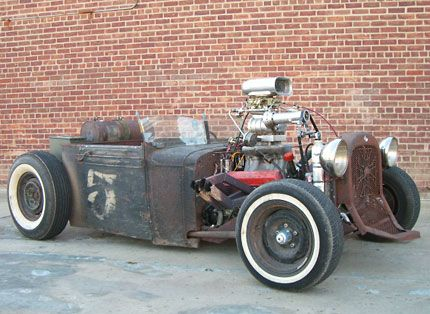 Rat Rod Test Drive Old School Chevy Powered Hot Rod