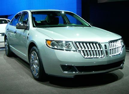 2010 Lincoln Mkz Entry Sedan Moves Closer To Mks With Upscale Tech Live From The 2008 L A Auto Show