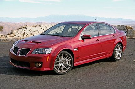 2009 Pontiac G8 GXP Test Drive: Sport Sedan is the Best Pontiac ...