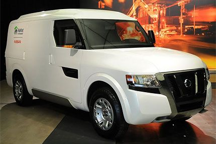 4020a69420 Nissan NV200 and NV2500 First Look  Commercial Truck Concepts
