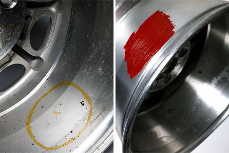 How To Tell When a Wheel, Not a Tire, is Leaking