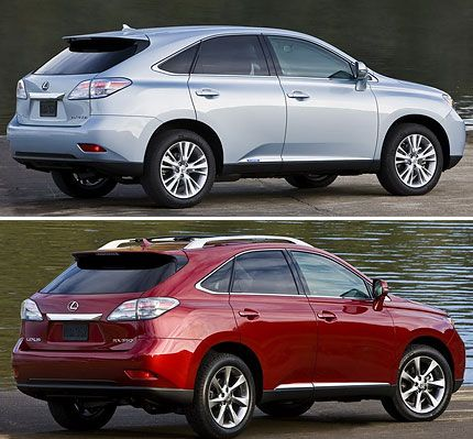2010 Lexus RX350 and RX450h Test Drive: Hot Infotainment Tech and
