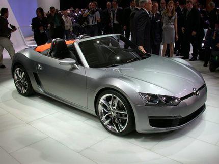 Volkswagen Concept BlueSport Is A Slick 50 MPG Sports Car: 2009 Detroit  Auto Show Preview
