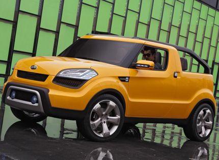 Kia Soul Ster Concept Two Door Fuel Efficient Convertible Funster 2009 Detroit Auto Show