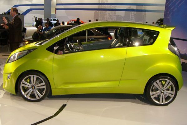 2011 Chevrolet Spark Takes Chevy Into Hip Small Car Territory 2009