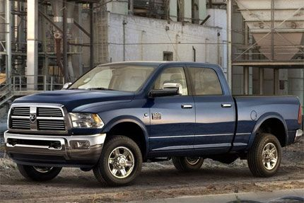 2010 Dodge Ram 2500 Towing Capacity