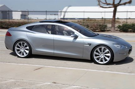 2011 Tesla Model S Concept Tech Deep