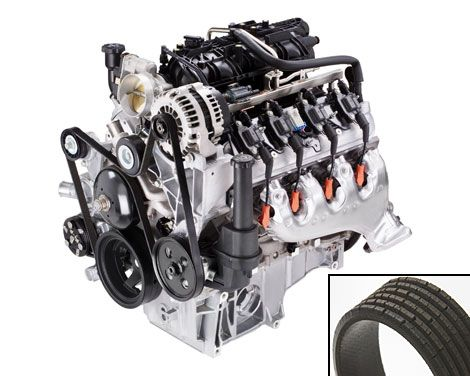 how to change a serpentine belt replacing serpentine belt rh popularmechanics com Stering Trucks with 5 9 Cummins Motor Diegrames 8.3 Cummins Engine Heater