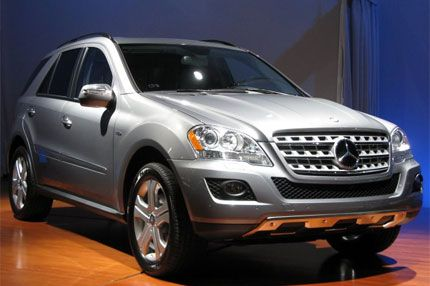 Mercedes Benz Ml450 Hybrid Test Drive With Video 2009 New York Auto Show