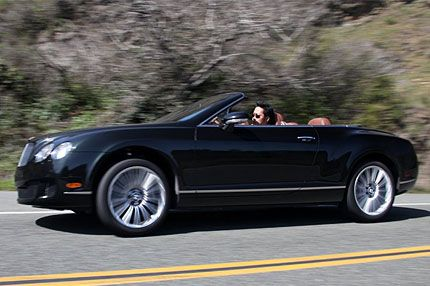 2009 Bentley Continental GTC Speed—What Recession? 610 hp