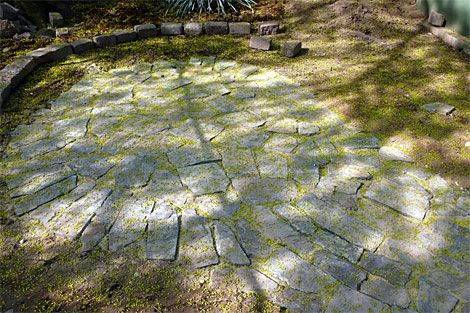 Backyards in Brooklyn are almost always blessed with these glorious  bluestone patios. Massive slabs the size of truck beds hold entire  Adirondack chairs, ... - How To Build A Flagstone Patio - Designs For Flagstone Patio